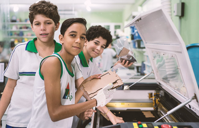 Fab Lab Rec nas Escolas
